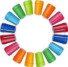 | Set of 16 | Spectrum Unbreakable Plastic 10oz Kids Juice Tumblers in 8 Assorted Colors