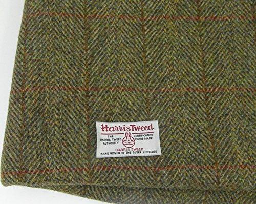 Echter Harris Tweed, 100% reine Wolle, mit Etiketten. 75 cmx50cm. -