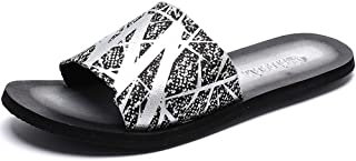 Durable Summer Shoes Men Shoes Flat Bath Summer Sandals Designed To Withstand Whatever The Weather (Color : Silver, Size : 43)