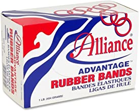"product image for Alliance Rubber Company Rubber Bands, Size 8, 1 lb., 7/8""x1/16"", Approx.5200/BX, NAT"