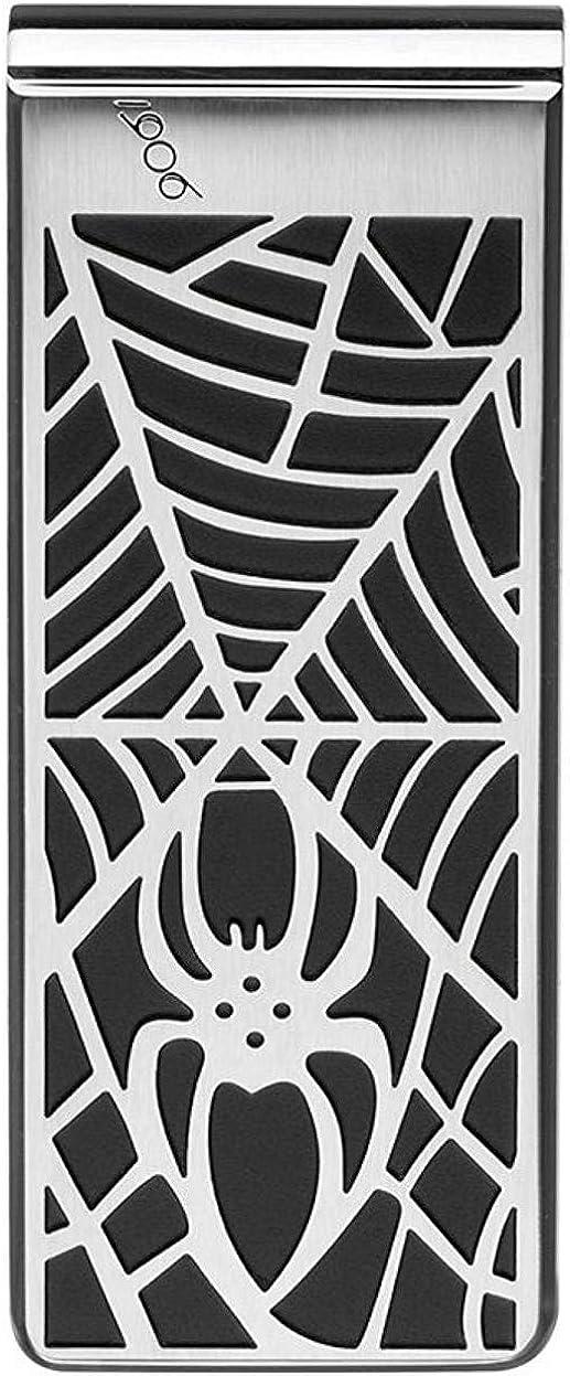 Montblanc 114709 Money Clip Spider Web Motif & PVD Finish
