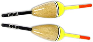 Eagle Claw Balsa Style Oval Fixed Float with 6-Inch Stem