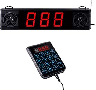 Chunhee Wireless Calling System,Take A Number System,Wireless Queue Calling System with...