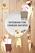 Notebook for cooking recipes: Blank Recipe Book to Write In (100-Recipe Journal and Organizer)/ journal gift