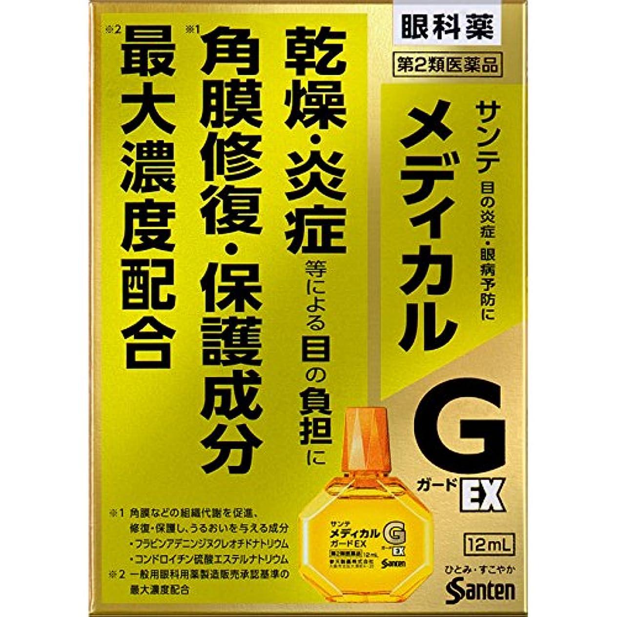 欠陥ディプロマ普通に【第2類医薬品】サンテメディカルガードEX 12mL ×2