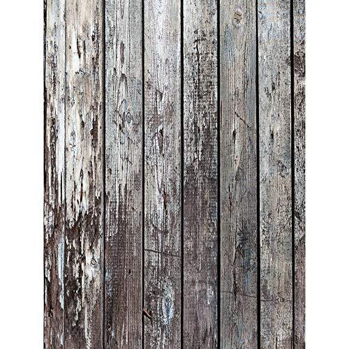 occitop Holzbrett Fotografie Kulissen Kunst Stoff Hintergrund Tuch (A 0,6 x 0,9 m)