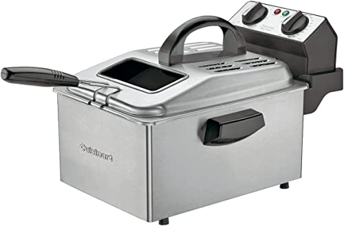 new arrival Cuisinart DF250 1800-Watt 2-1/5-Pound-Capacity new arrival Deep 2021 Fryer, Brushed Stainless online