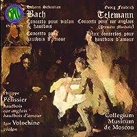 Bach/Telemann: Vln/Oboe Concs