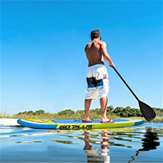 Lucky-gift - 10' Inflatable Stand up Paddle Surfboard with Bag - Surfboard Paddle Board - Fin Stand Handle Up Sup Surfing Longboard - Inflatable Paddle Boards Stand Up - Center Surf Rectangle Central