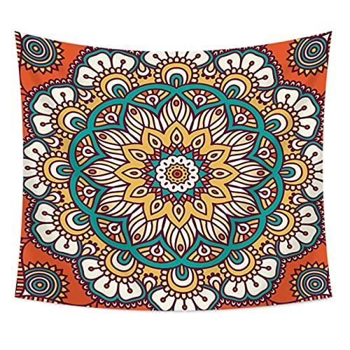 NTtie Tapiz,en algodón Puro,Ideal para Colgar en el cabecero de la Cama Patrón de Tapiz de impresión Digital. ✅