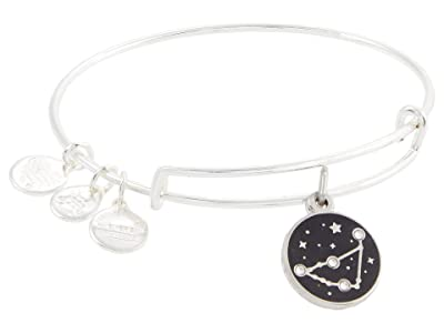 Alex and Ani Color Infusion Capricorn Bangle Bracelet (Shiny Silver) Bracelet