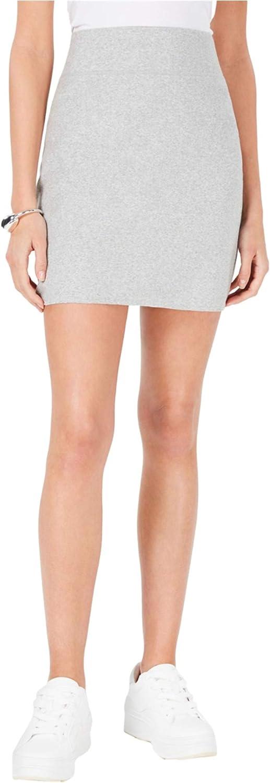 Bar III Women's Sweatshirt Mini Skirt