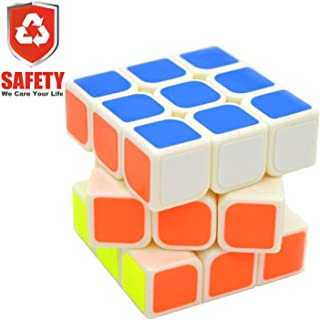 Granvela YJ8305 3x3 Smooth Speed Cube Stickers Magic Puzzle Cube(White)