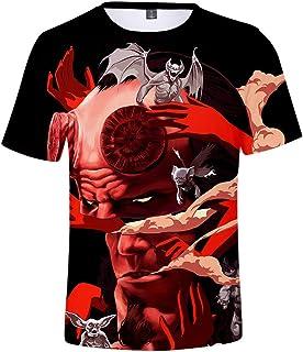 1482027f93a5 YATCLS Hellboy - Camiseta De Manga Corta con Impresión 3D - Camiseta De  Verano