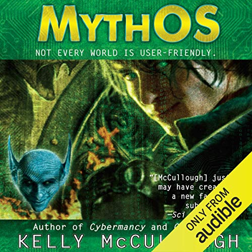 MythOS audiobook cover art