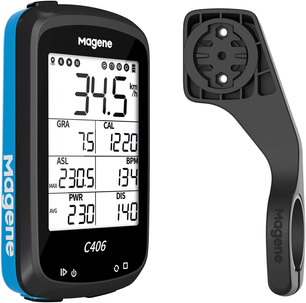 Special price for a limited time Magene C406 Bike Computer Super beauty product restock quality top with Cycling Co GPS Waterproof Holder