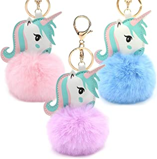 Cute Animal Keychain Cute Animal Keyring for Girls Womens Bag Backpack Cellphone Pendant Accessory