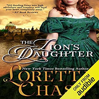 The Lion's Daughter audiobook cover art