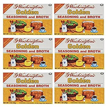 G Washingtons Seasoning and Broth, Golden, 1 Ounce (Pack of 6)