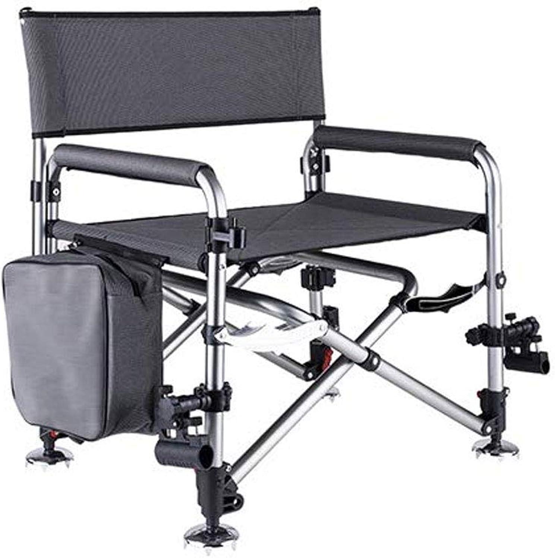Portable Wild Fishing Chair, Folding Portable Wild Fishing Chair MultiFunction Lifting Light Thick Seat Seat Fishing Gear