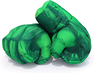 Aenmil Hulk Hands Kids Boxing Gloves Soft Plush Gloves Cosplay Costume Toy Fists for Birthday Christmas