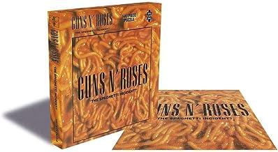 Gun N Rose Spaghetti Event 500 Pieces Puzzle Adult Jigsaw Puzzle Family Jigsaw Puzzle Set Cardboard Jigsaw Educational Game Brain Challenge Jigsaw