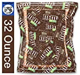 Kids Fun Candy 32oz Pack of M&M's Fun Size Milk Chocolate for Party Bags, Gifts, and Office Snacks