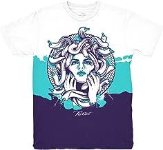 Grape 5 Fresh Prince Medusa Shirt to Match Jordan 5 Grape Fresh Prince Sneakers