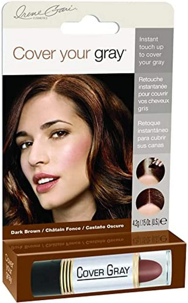 Cover Your Gray Stick Dark Brown 44 ml (Tempor?re Haarfarbe)