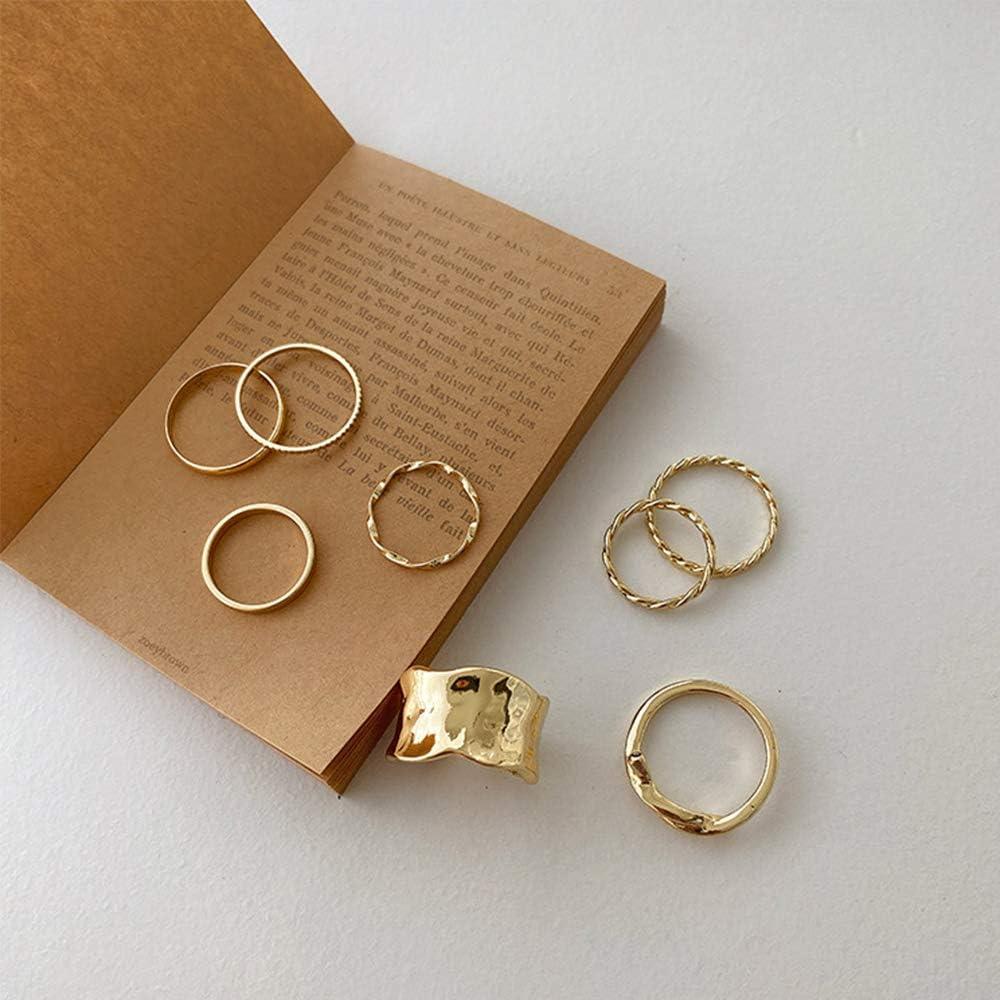 Pinxuan Parties Korea Minimalist 8Pcs/Set Metal Geometric Weddin