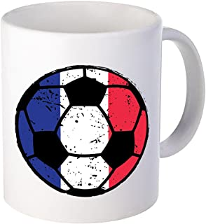 Vizor France Mug France Soccer Mug France Coffee Mugs France National Team White 11 oz