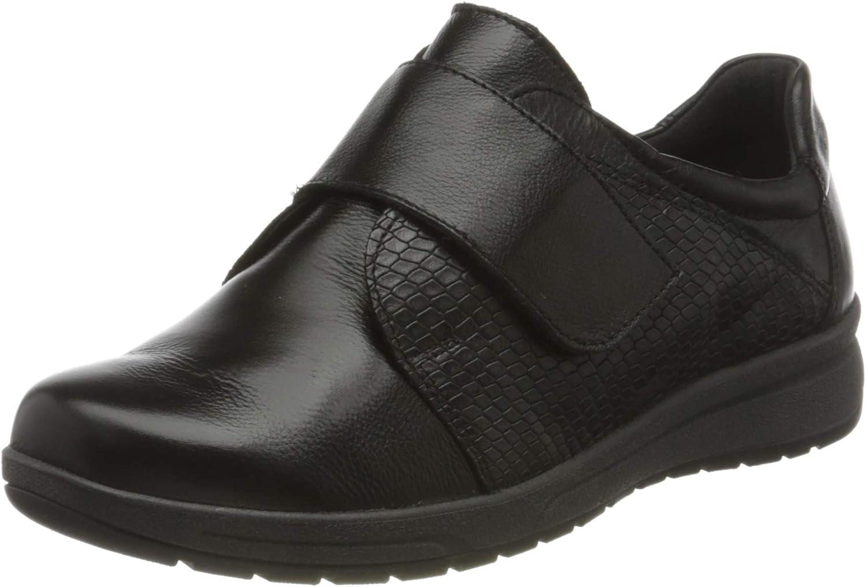 Comfortabel Women's 942657 Loafer Super sale Raleigh Mall 3 UK Black