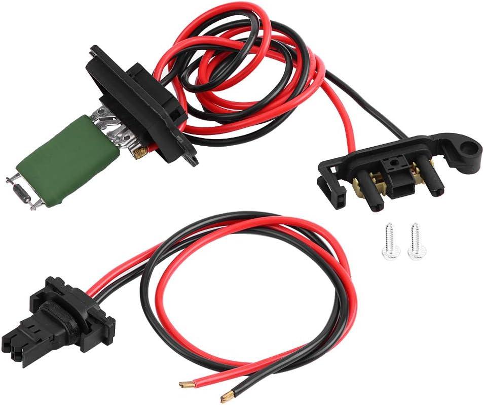 Resistencia del calentador, resistencia del motor del ventilador del ventilador del calentador para Renault Clio MK3 III Modus 7701209803