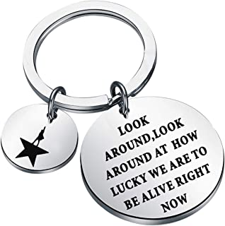 ENSIANTH Hamilton Musical Inspired Gift Look Around at How Lucky We are to Be Alive Right Now Broadway Musical Gift
