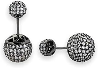 Stylish Dark Silver Women Earrings From High Street Jewelry Special Ideas for Gifting