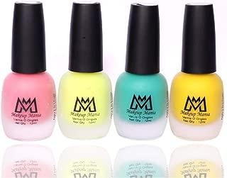 Makeup Mania Premium Nail Polish Set, Velvet Matte Nail Paint Combo of 4 Pcs, Perfect Gift for Girls and Women (MM-60), Multicolor, 300 g
