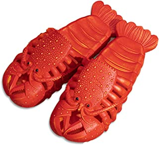 Lobster Slippers, Bass Slides, Slippers, Pool, Beach & Shower Shoes,Men Women & Kids Fish Slippers Cartoon Casual Animal Slippers