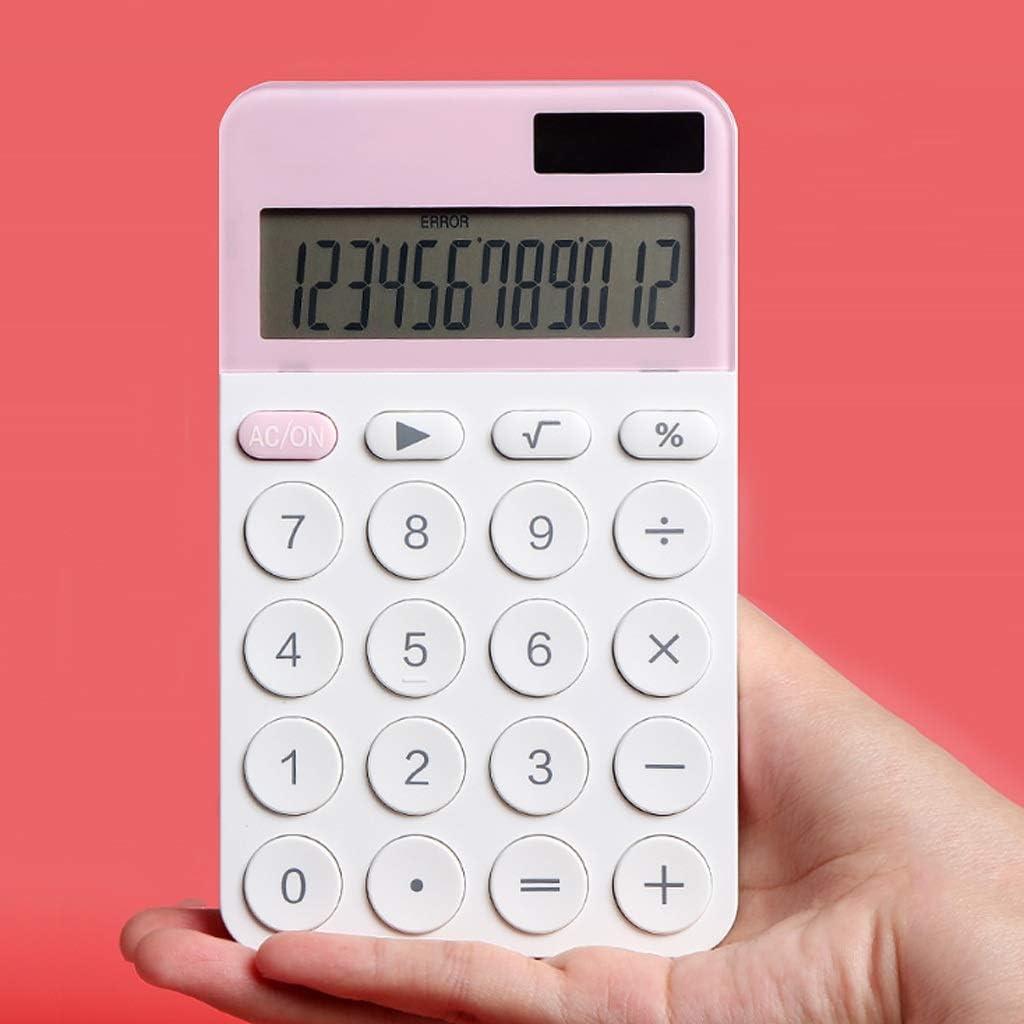 sgzyj 12 Digit Modern Calculator Caculator Dual Cute Soldering Power Color Ranking TOP10