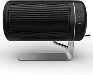 KDLD Calentador ® Mini calentador ABS retardante ajustable portátil Termóstato Office dormitorio Radiador 1500W, negro