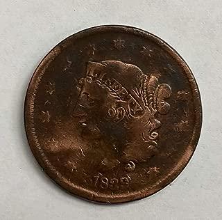 1839 Coronet Head Large Cent 1C Fine+