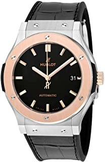ساعت مچی مردانه Hublot Classic Fusion Automatic Matte Black Dial 511.NO.1181.LR