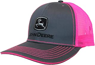 Toddler/Kids Mesh Back Cap (Charcoal/Pink)