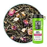 Tiesta Tea - Fruity Pebbles, Loose Leaf Strawberry Pineapple Green Tea, Medium Caffeine, Hot & Iced...