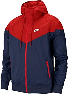 nike windrunner red navy