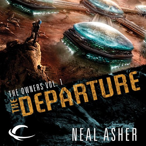 The Departure audiobook cover art