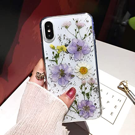 coque iphone xs max fleur seche