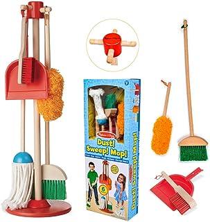 Melissa & Doug 8600 Let's Play House Dust! Sweep! Mop! 6-Piece Pretend Play Set
