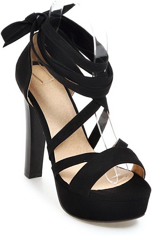 AdeeSu Womens Water_Resistant Dress Mule Urethane Sandals SLC03773