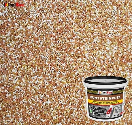 Buntsteinputz Mosaikputz BP40 (braun, weiss, gelb) 10kg Absolute ProfiQualität