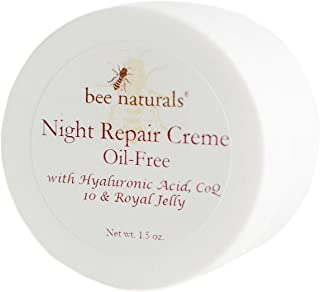 BEST Night Repair Oil Free Cream - Advanced Skin Moisturizer - Fast Absorbing - Formulated with Royal Jelly...